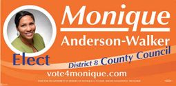 Monique Anderson Walker for District 8 County Council