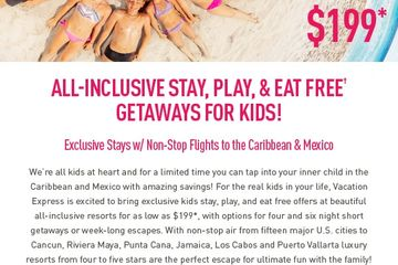 All-Inclusive Stay, Play, & Eat Free Getaways for Kids!