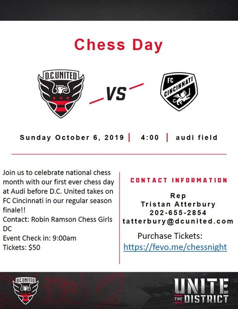 Upcoming Events | DC Scholastic Chess