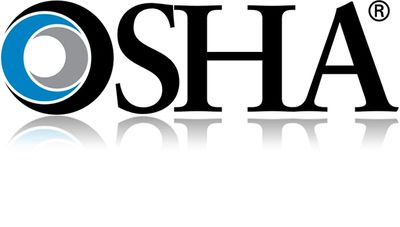 Occupational Safety and Health Administration (OSHA) logo.