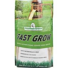 Fast Grow, Jonathan Green, Grass Seed, Sun & Shade Mix, Mulch and Stone World