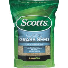 Scotts, Scoots Classic Grass Seed, Sun & Shade Mix, Grass Seed, Mulch and Stone World