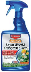 Lawn and Crabgrass Killer, Bonide, Weed Control, Redmond's, Mulch and Stone World