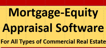 Mortgage-equity Software: For Real Estate Appraisals