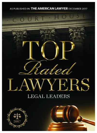 Top Rated Lawyer Douglas Whipple 2017