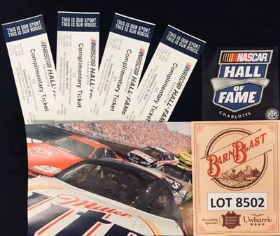 Nascar Hall of Fame Dream Package