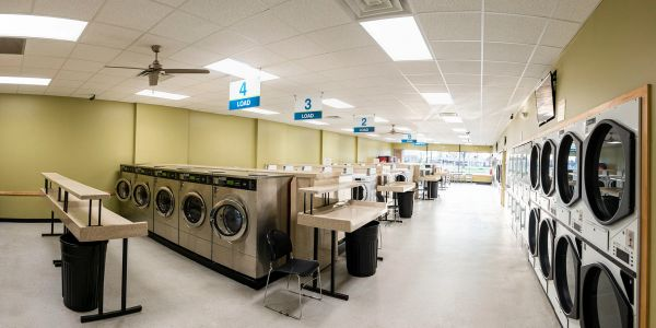 Very clean and safe laundromat.  Highly rated by customers.