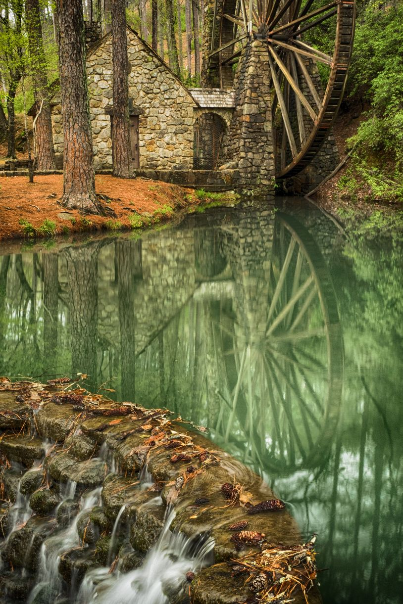 berry college water wheel rome georgia photography workshop