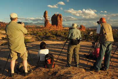arches national park, balanced rock, photography workshop, utaha