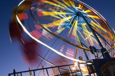 fair ride, night photography, long exposure, photo workshop, photo class, photo tour