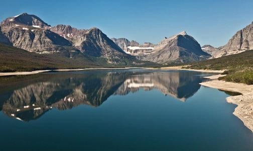 glacier national park, montana, lake, mountains, photo workshop rocky mountain school of photography