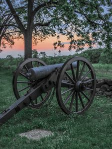 gettysburg, pennsylvania, cannon, photography workshop, photography class, photo tour