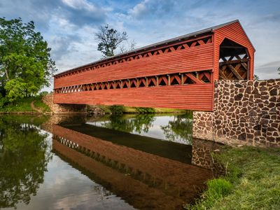 gettysburg, covered bridge, pennsylvania, photography workshop, photography classes, photo tour
