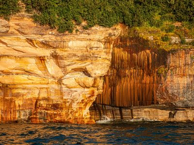 munising, pictured rocks, up, upper peninsula, cliffs, photography workshop,