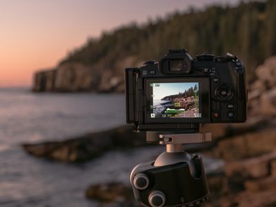 olympus, EM1, tripod, live view, maine, bar harbor, acadia national park, photography workshop