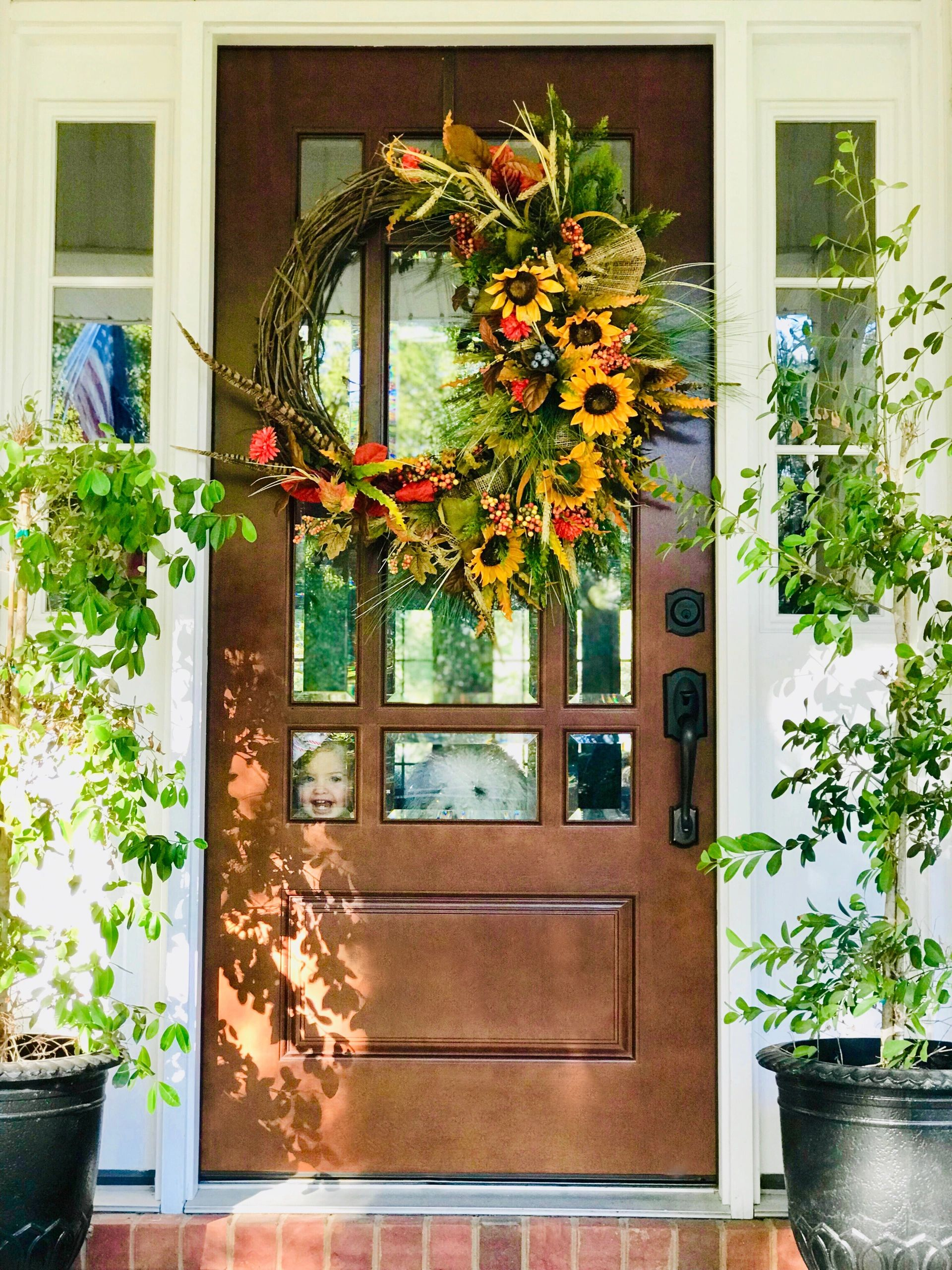 A front door that leads to my dream home.