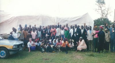 Waymarks Tent Meeting in Kenya