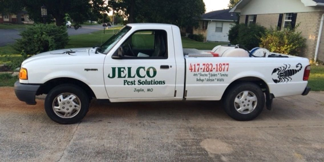 Jelco Pest Solutions vehicle