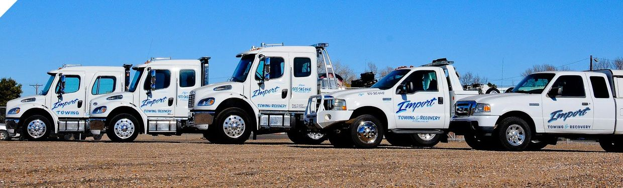 Import Towing & Recovery, best towing fort Collins, Fort Collins towing,choice towing,crossroads