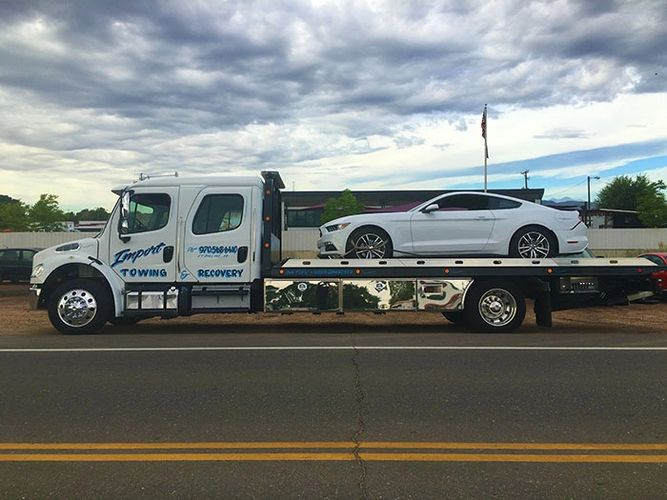 Best towing Fort Collins, RV towing, bus towing, fire Big Al towing, motorcycle towing, fleet towing