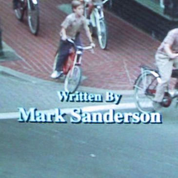 Filmography of screenwriter Mark Sanderson