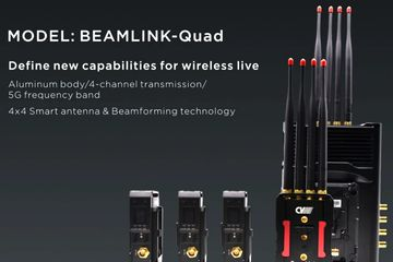 Beamlink-Quad 4 channel wireless HD video transmission