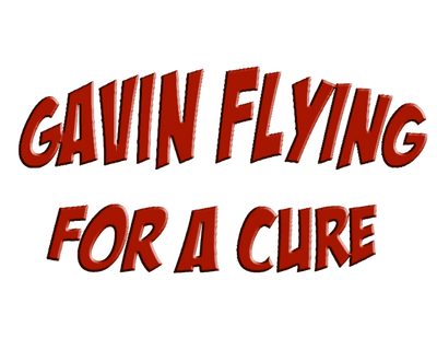 Gavin Flying For A Cure