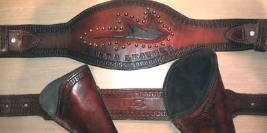 Mike's Manta Leather holster set