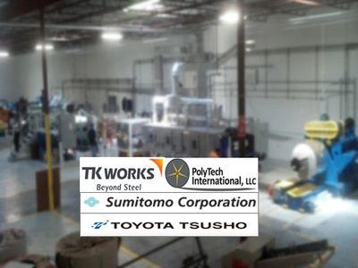 Polytech America, LLC - Polymeric Laminate, Steel Lamination