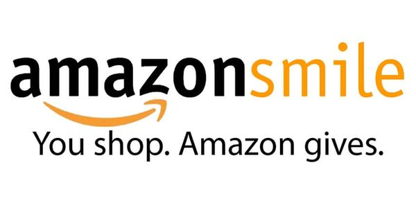 "Amazon Smile logo. ""You shop. Amazon Gives."""
