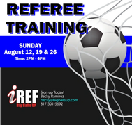 Soccer Referee clinic
