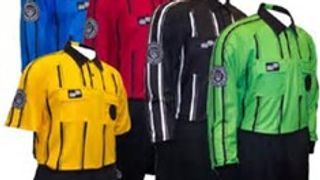 You can get all your soccer referee uniforms here.