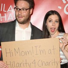 Seth Rogen Lauren Miller Hilarity for Charity Dementia Alzheimer's DementiaCareConnection