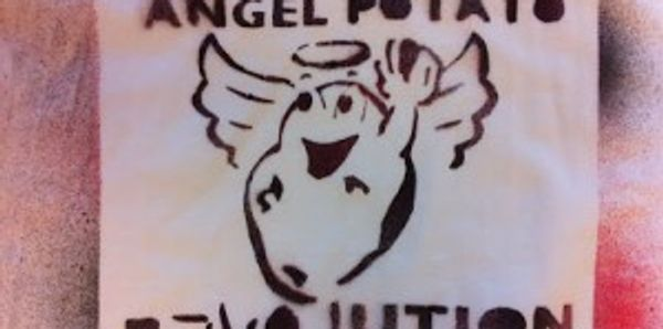 Image of Angel Potato Revolution t-shirt