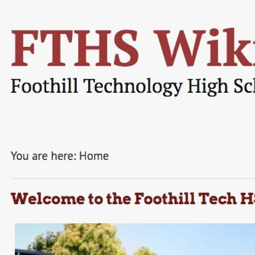 FTHS WIKI Page