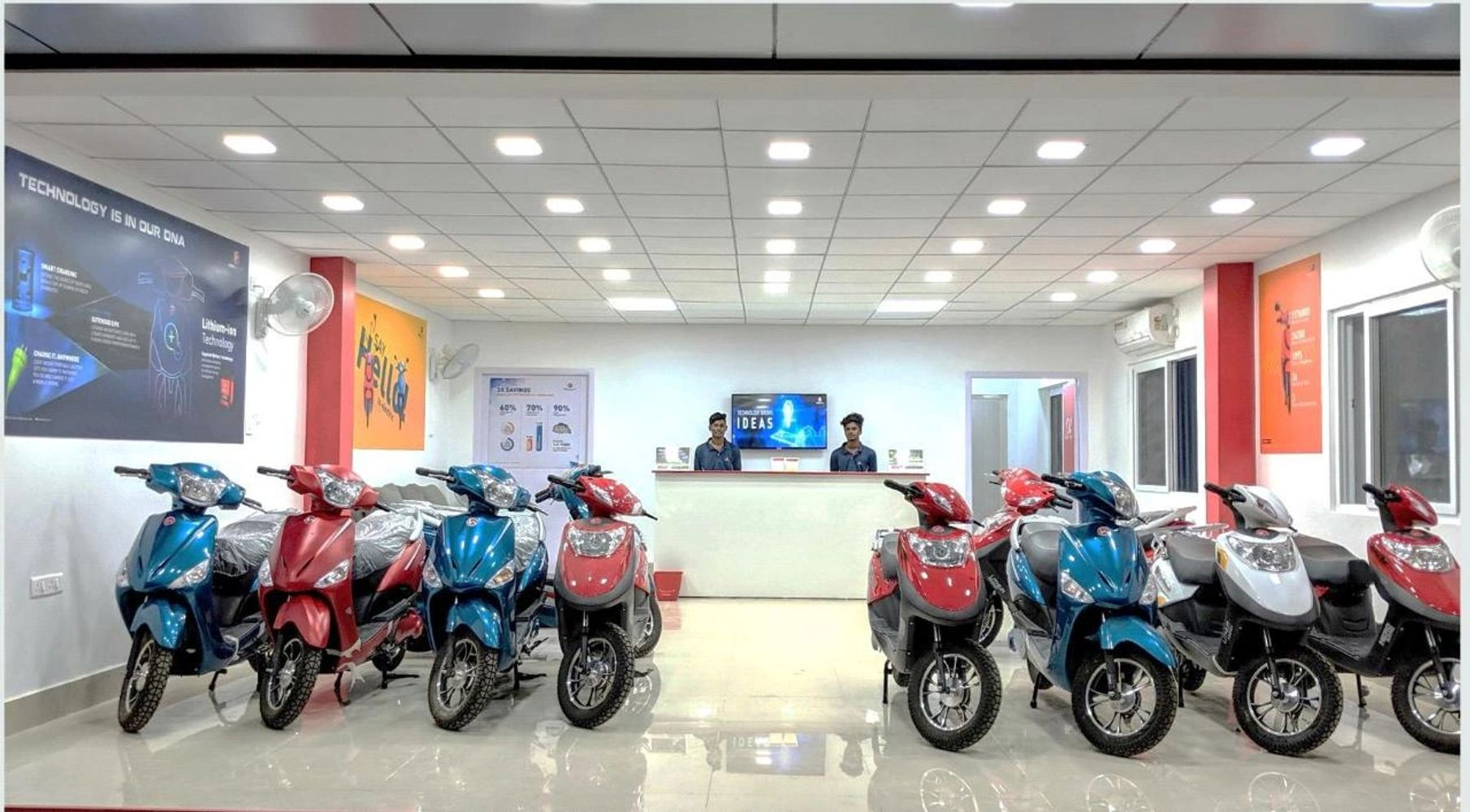 Chennai Hero Electric Scooters and Hero Electric Bikes , Chennai e Bikes eCharge Motors Main Dealer
