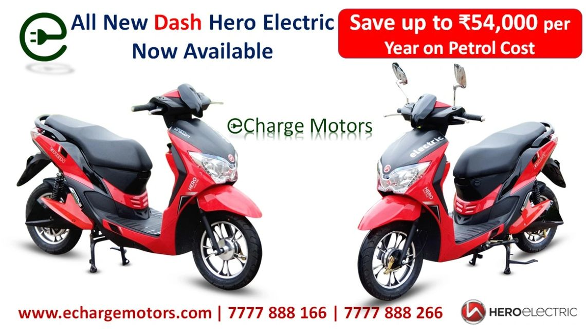 Chennai Electric Scooters , Hero Electric Dash