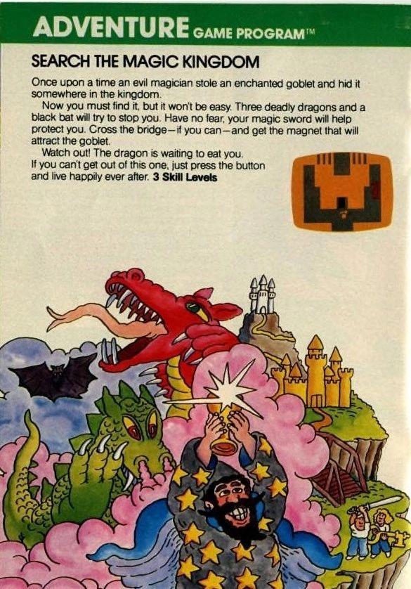 Atari 2600 Adventure ad