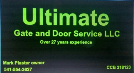 Ultimate Gate and Door Service