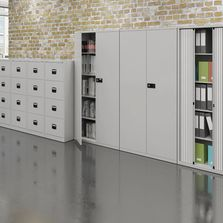 Storage solutions filing cabinets and cupboards