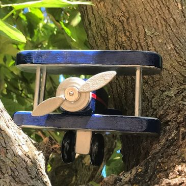 handmade Plane In a tree