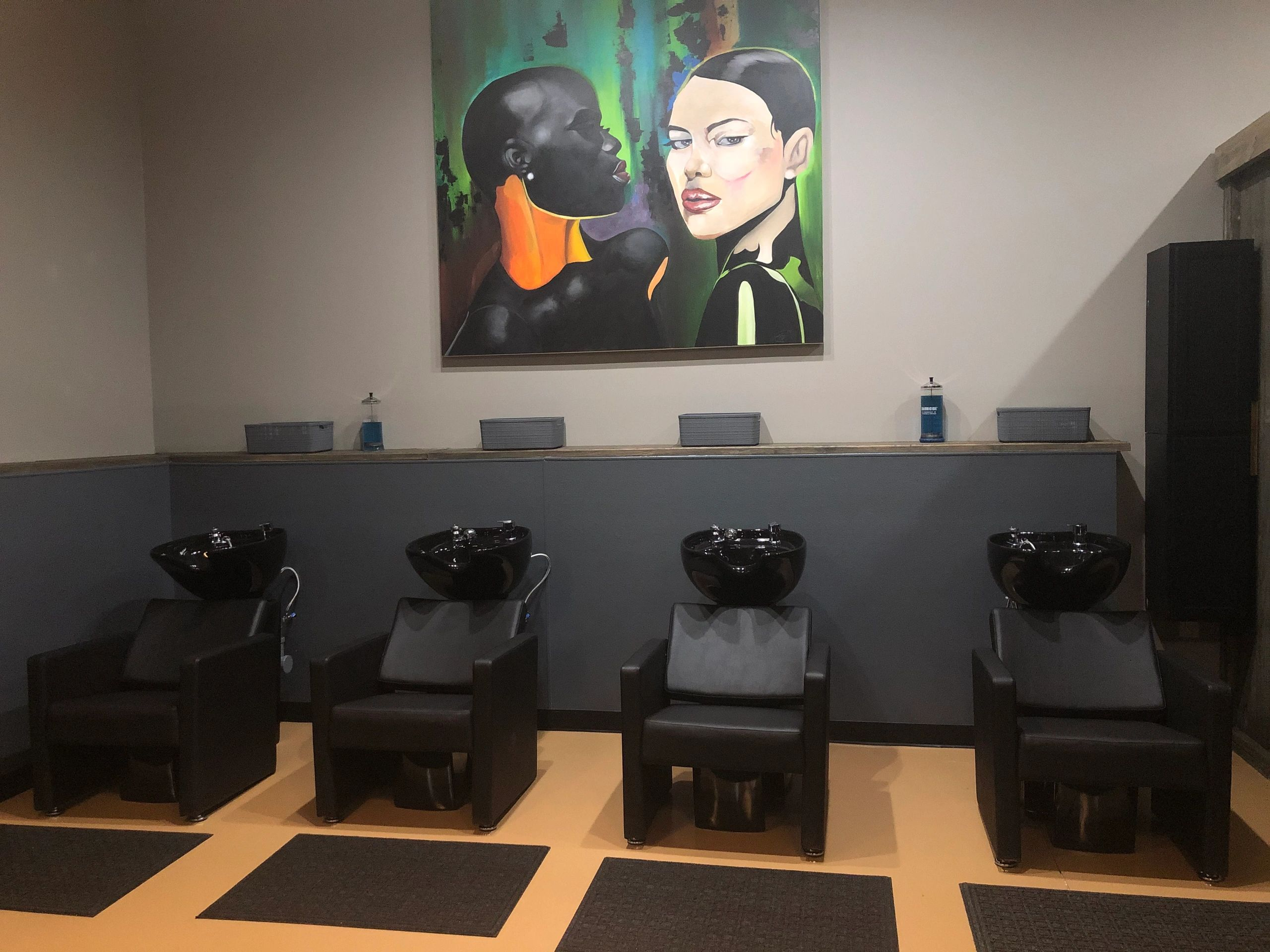His And Her Hair Design Hair Salon Barber Shop Beauty Salon