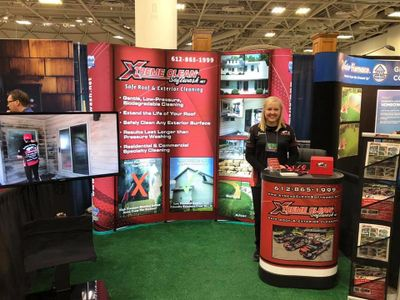 Xtreme Clean Softwash at the Home Shows