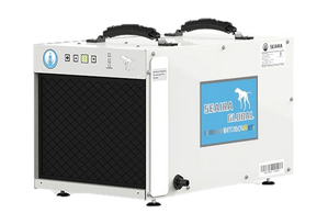 Seaira Watchdog crawlspace dehumidifiers for mold, humidity, pest control. NXT60 NXT85C NXT120C pump