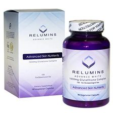 Relumins Advance White 1650mg Glutathione Complex – 15x For Dermatologist Use