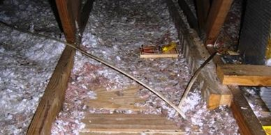 Attic Insulation and Restoration