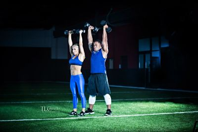 Daily Workouts Fit Couples Live Fit, Team iPhysique, Kristi Tauti