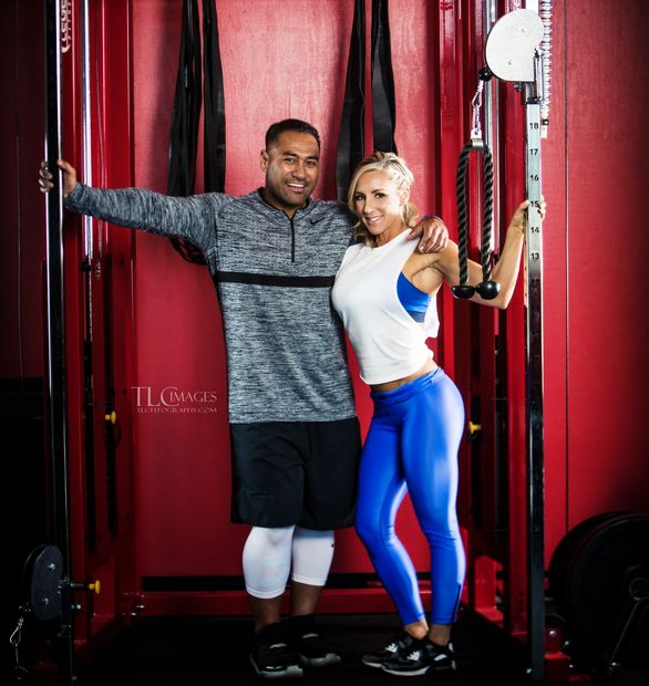 Kristi Tauti and Pati Tauti of iPhysique Fitness