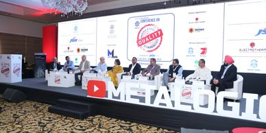 Indian Steel Quality Conference organised by Metalogic