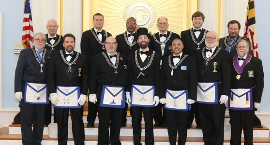 2020 Masonic Officer Line
